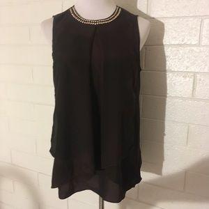 Michael Kors Sleeveless Lightweight Blouse Size M